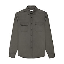Buy Reiss Mason Cotton Twill Overshirt Online at johnlewis.com