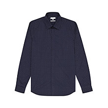 Buy Reiss Jenas Polka Dot Slim Fit Shirt Online at johnlewis.com