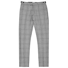 Buy Reiss Vincent Check Suit Trousers, Grey Online at johnlewis.com