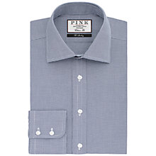 Buy Thomas Pink Hobson Textured Classic Fit Shirt, Navy/White Online at johnlewis.com