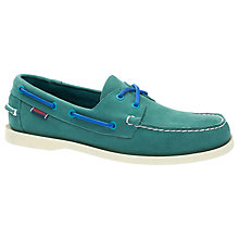 Buy Sebago Dockside 2-Eyelet Leather Boat Shoes Online at johnlewis.com