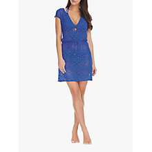 Buy Freya Sundance Cross Over Crochet Dress, Cobalt Online at johnlewis.com