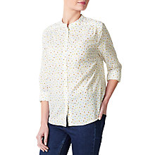 Buy Collection WEEKEND by John Lewis Daisy Floral Shirt, White/Multi Online at johnlewis.com