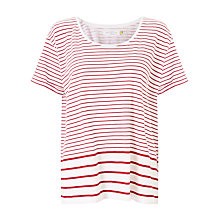 Buy Collection WEEKEND by John Lewis Stripe Cotton Slub T-Shirt Online at johnlewis.com