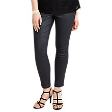 Buy Studio 8 Abbey Glitter Jeans, Black Online at johnlewis.com
