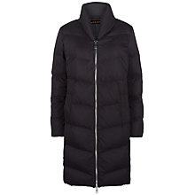 Buy Jaeger Long Puffer Coat, Black Online at johnlewis.com