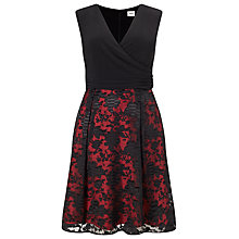 Buy Studio 8 Josephine Dress, Black/Red Online at johnlewis.com