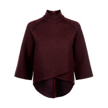 Buy Jaeger Laboratory Double Faced Jumper, Bordeaux Online at johnlewis.com