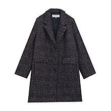 Buy Gerard Darel Jerry Coat, Dark Blue Online at johnlewis.com