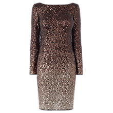 Buy Coast Demi Ombre Sequin Dress, Bronze Online at johnlewis.com