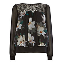 Buy Coast Montauk Printed Top, Multi Online at johnlewis.com