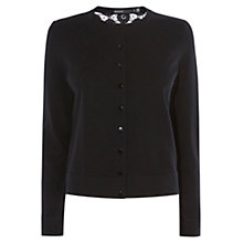 Buy Karen Millen Panelled Lace Cardigan Online at johnlewis.com