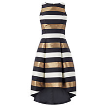 Buy Coast Metallic Stripe Makena Dress, Multi Online at johnlewis.com
