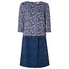 Buy White Stuff Northern Lights Dress, Winter Blue Online at johnlewis.com
