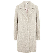 Buy Mint Velvet Textured Coat, Neutral Online at johnlewis.com