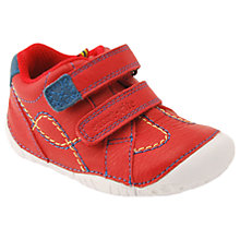 Buy Start-rite Baby Turin Rip-Tape Pre Walker Shoes, Red Online at johnlewis.com