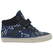 Buy Clarks Children's Jungle Fun Fst Shoes, Navy Online at johnlewis.com