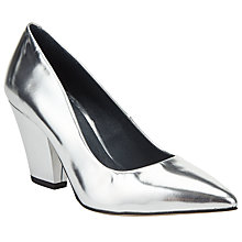 Buy Kin by John Lewis Anneli Block Heeled Court Shoes Online at johnlewis.com