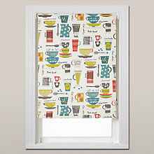 Buy John Lewis Coffee Cups Daylight Roller Blind, Chain Mechanism Online at johnlewis.com