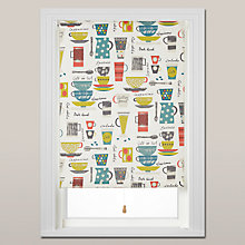 Buy John Lewis Coffee Cups Daylight Roller Blind, Spring Mechanism Online at johnlewis.com