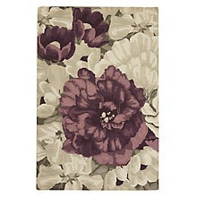 Buy John Lewis Pemberley Rug, Purple Online at johnlewis.com