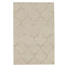 Buy John Lewis Hotel Morocco Rug, Cream Online at johnlewis.com