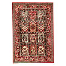 Buy John Lewis Aisha Tiles Rug, Red Online at johnlewis.com