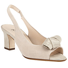 Buy Peter Kaiser Vivett Block Heeled Sandals, Sand Online at johnlewis.com