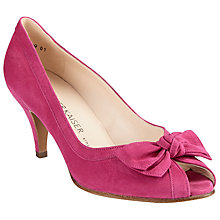 Buy Peter Kaiser Satyr Bow Peep Toe Sandals Online at johnlewis.com