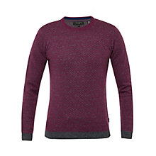 Buy Ted Baker Brooks Knitted Crew Neck Jumper Online at johnlewis.com