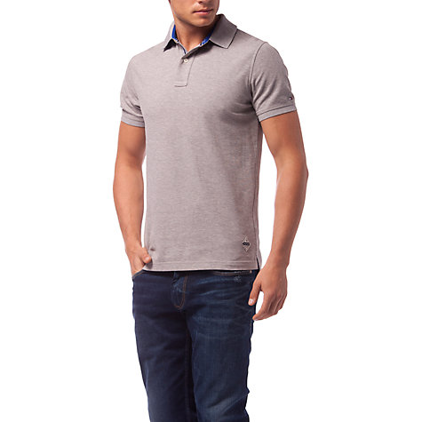 buy tommy hilfiger brody slim fit polo shirt grey online at johnlewis. Black Bedroom Furniture Sets. Home Design Ideas