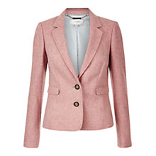 Buy Hobbs Francis Jacket, Pale Cranberry Online at johnlewis.com