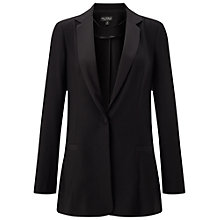 Buy Miss Selfridge Unlined Blazer, Black Online at johnlewis.com