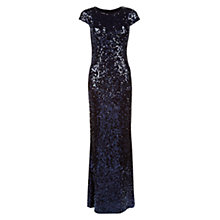Buy Hobbs Dafina Maxi Dress, Midnight Online at johnlewis.com