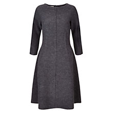 Buy Hobbs Elissa Dress, Grey Melange Online at johnlewis.com