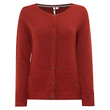 Buy White Stuff Waves Cardigan, Carmine Online at johnlewis.com