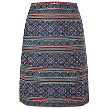Buy White Stuff China Bay Skirt, Japanese Blue Online at johnlewis.com