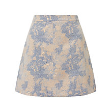 Buy Miss Selfridge Jacquard Skirt, Pale Pink Online at johnlewis.com