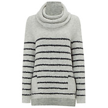 Buy White Stuff Eskimo Stripe Jumper, Sea Foam Cream Online at johnlewis.com