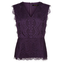 Buy Jaeger Scalloped Lace Top Online at johnlewis.com