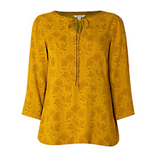 Buy White Stuff Breezy Top, Dandelion Yellow Online at johnlewis.com
