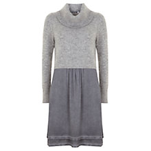 Buy Mint Velvet Overdye Cocoon Dress, Grey Online at johnlewis.com