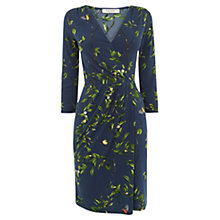 Buy Oasis Vine Wrap Dress, Multi Online at johnlewis.com