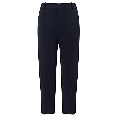 Samsoe & Samsoe Blase Cropped Trousers, Dark Sapphire