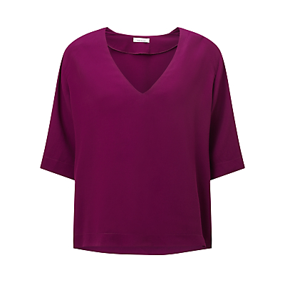 Samsoe & Samsoe Linne Top, Dark Purple