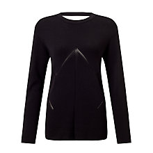 Buy Samsoe & Samsoe Kairi Sweatshirt, Black Online at johnlewis.com