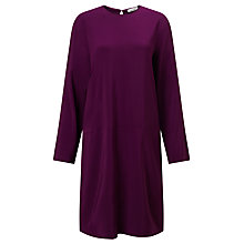 Buy Samsoe & Samsoe Piron Dress, Dark Purple Online at johnlewis.com