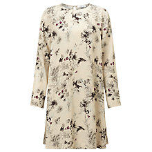Buy Samsoe & Samsoe Boise Printed Swing Dress, Fleur Clair Online at johnlewis.com