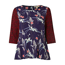 Buy White Stuff Patch Top, Multi Online at johnlewis.com