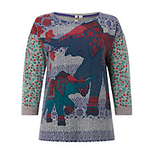 Buy White Stuff Nelly Print Jumper, Multi Online at johnlewis.com